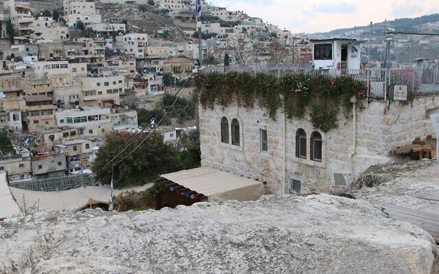 בית מיוחס בעיר דוד (צילום: שמואל בר-עם)