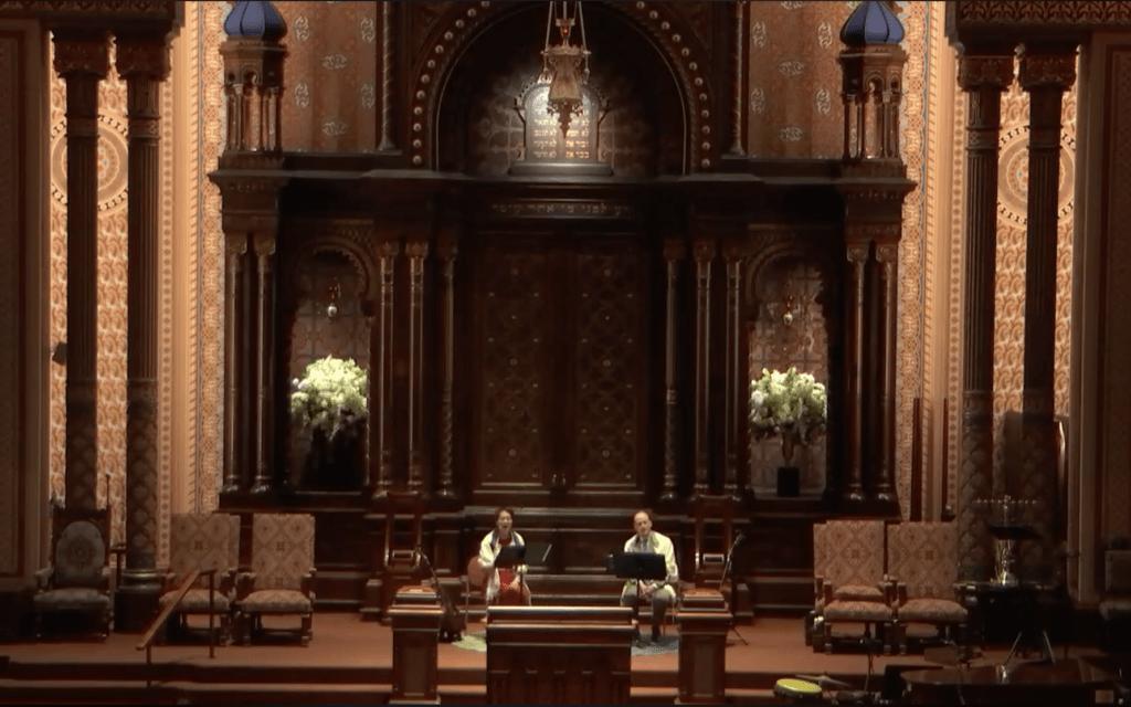 בית הכנסת המרכזי של ניו יורק, שצולם כאן ב-21 במרץ, 2020, פצח בחקירה בשנה שעברה לגבי ההאשמות נגד שלדון צימרמן, ששימש כרב הבכיר שלו בין השנים 1972-1985 (צילום: צילום מסך)
