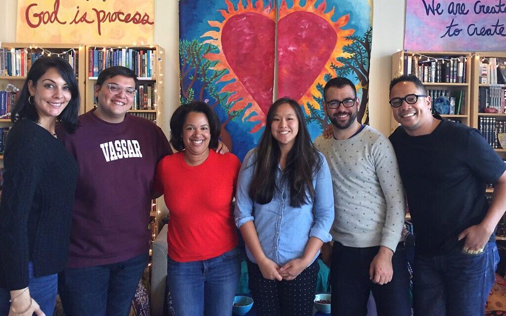 משתתפים בסימפוזיון על יהודים לא לבנים באוניברסיטת ברקלי (צילום: Jews of Color Field Building Initiative)