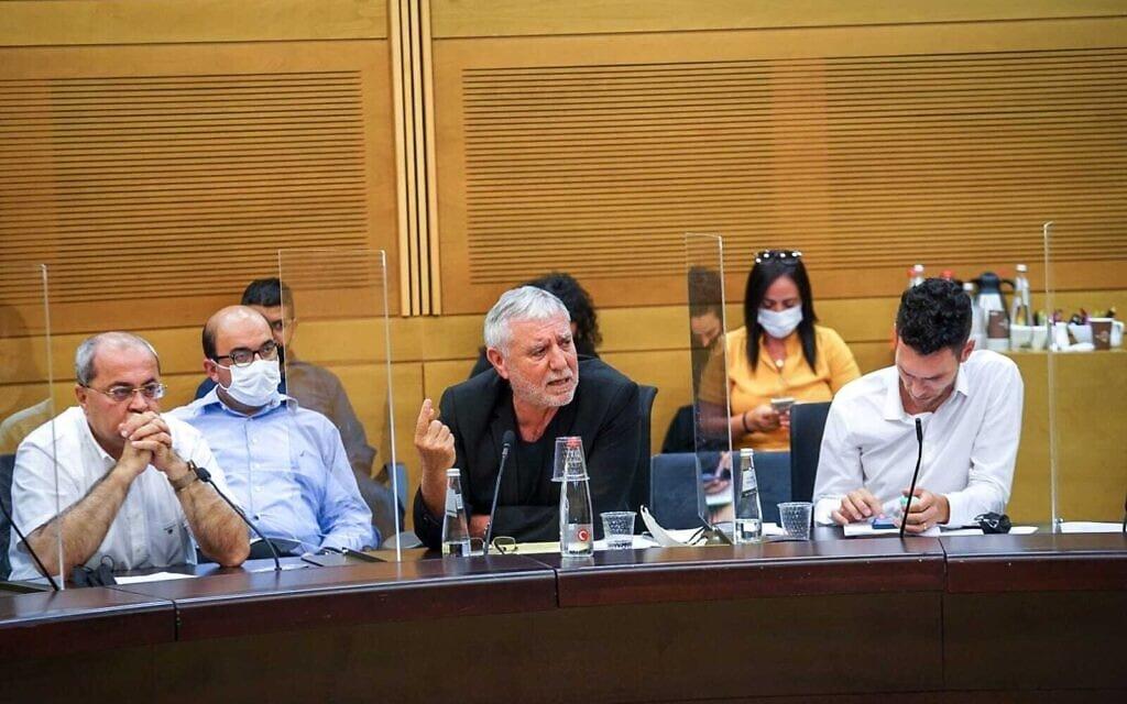 ישיבה של הוועדה המסדרת בכנסת, 4 במאי 2021 (צילום: נועם מושקוביץ, דוברות הכנסת)