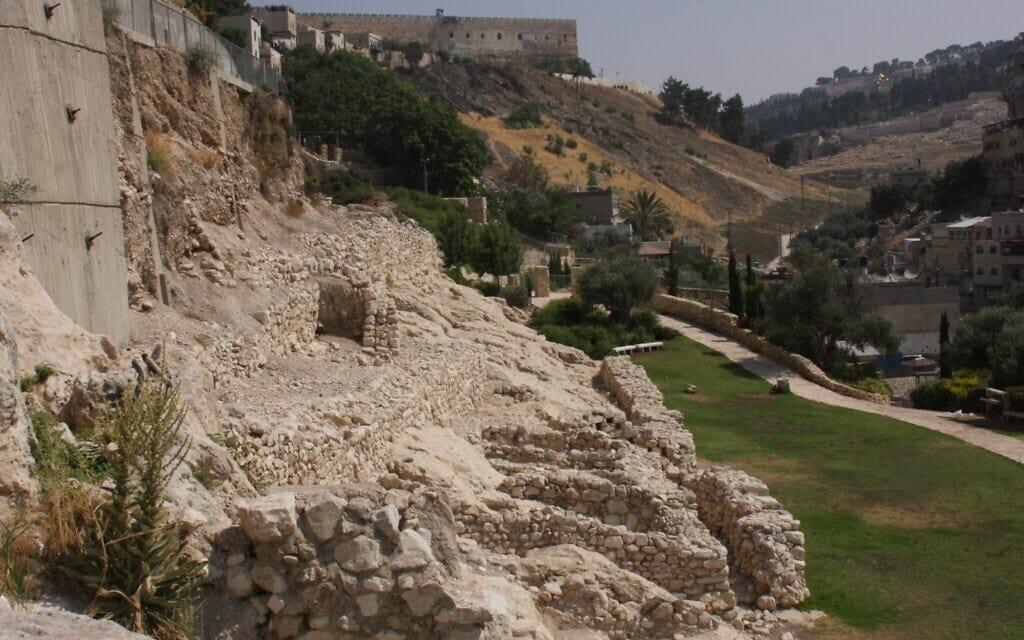 עיר דוד בירושלים (צילום: שמואל בר-עם)