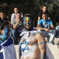 מצעד הדגלים במזרח ירושלים, 2011 (צילום: Nati Shohat / Flash90)