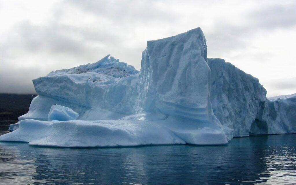 קרחון אילוליסאט בגרינלנד (צילום: אמנון פורטוגלי)