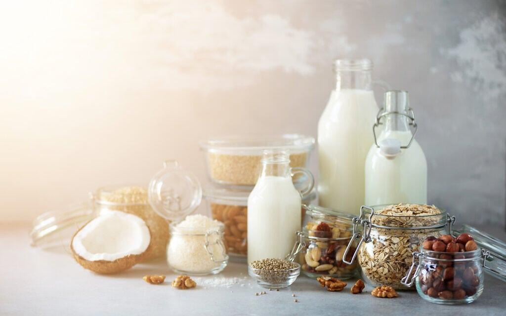 תחליפי חלב מהצומח. אילוסטרציה (צילום: iStock)