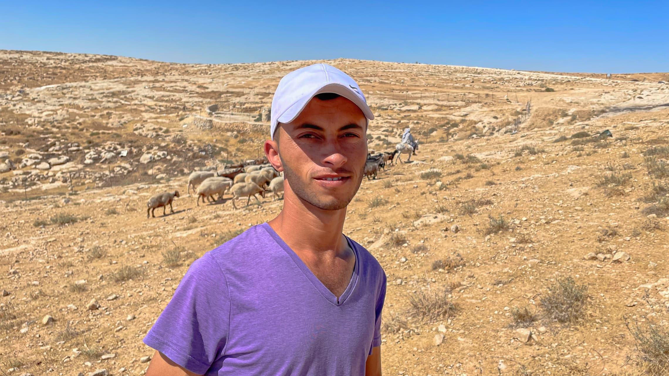 באסל אל-עדרה (צילום: אמיר בן-דוד)