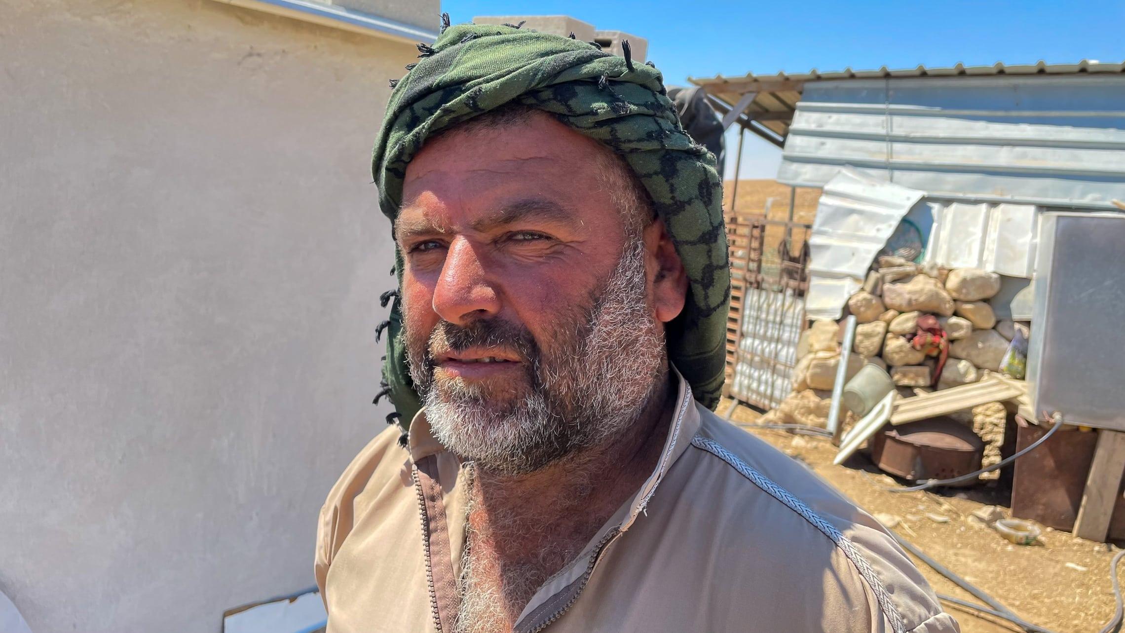 אכרם אבו סובחי (צילום: אמיר בן-דוד)