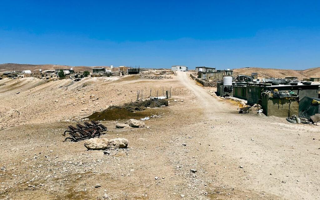 כפר במסאפר יטא (צילום: אמיר בן-דוד)