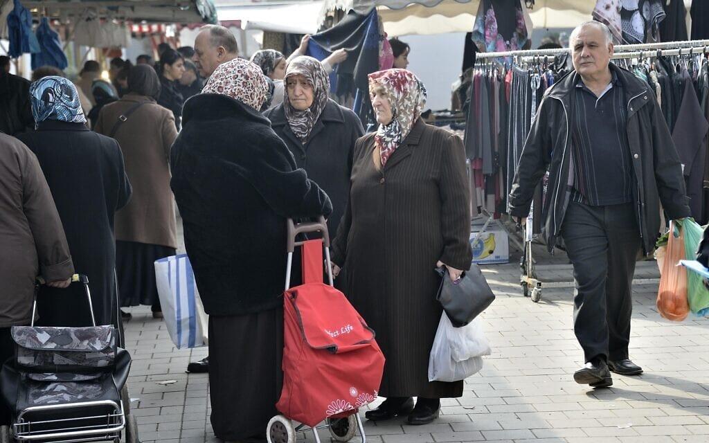 מהגרים מטורקיה בגרמניה, 2013 (צילום: AP Photo/Martin Meissner)