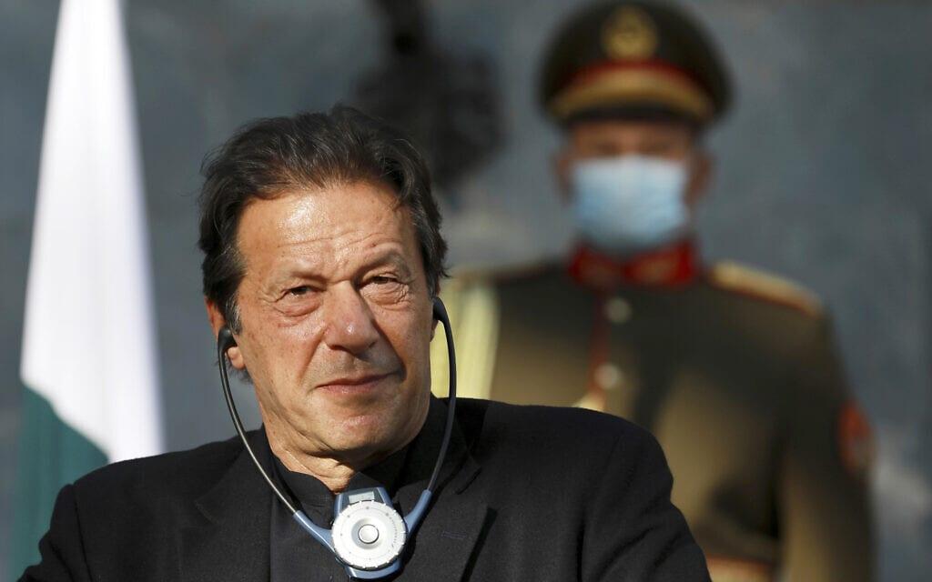 אימרן חאן, ראש ממשלת פקיסטן (צילום: AP Photo/Rahmat Gul, File)