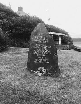 אנדרטה לזכר לוחמי כוח איקס שנפלו לא מתייחסת ליהדותם של הלוחמים (צילום: באדיבות מרטין קיי)