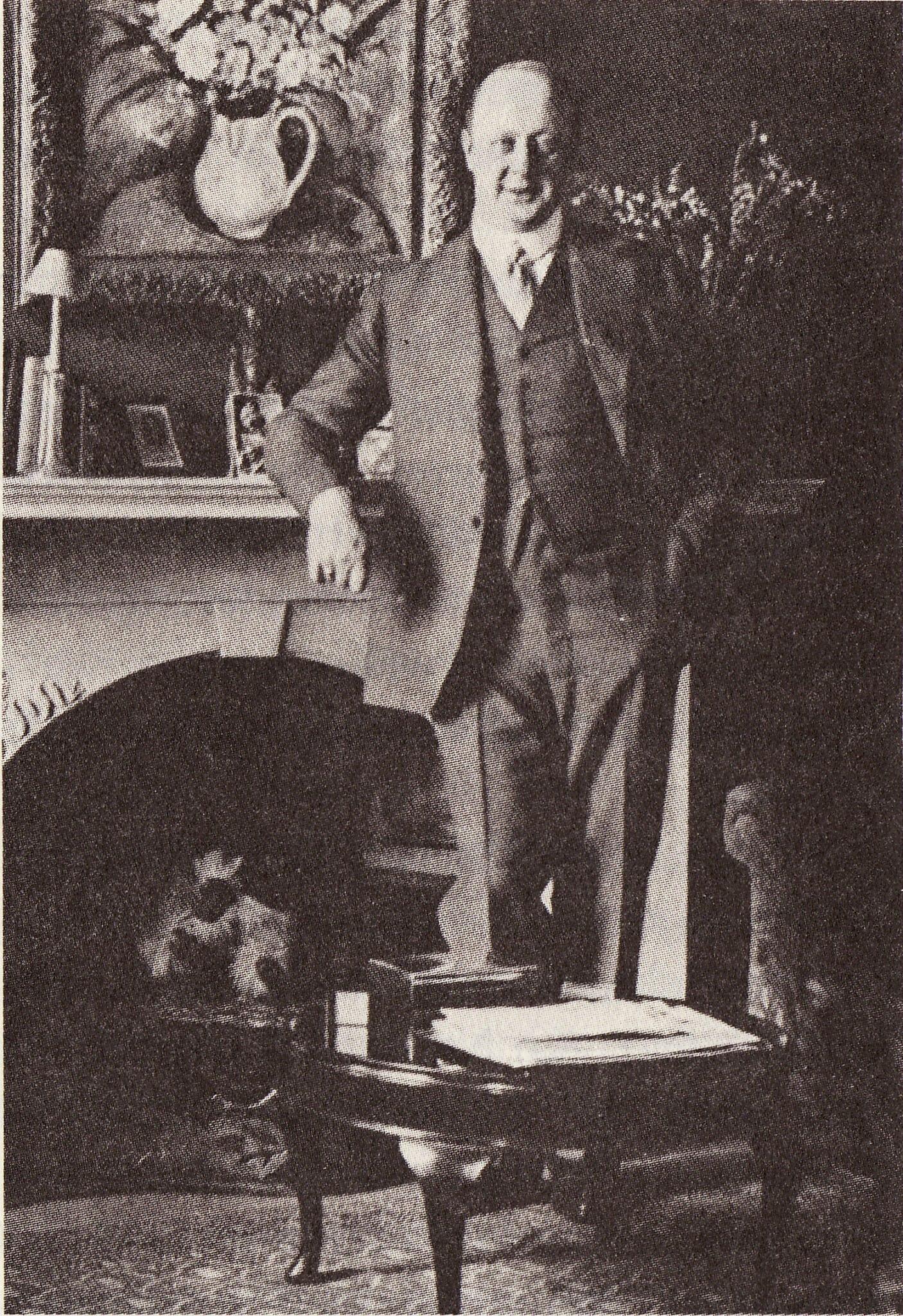 אלברכט פון ברנשטרוף-שטינטנבורג (צילום: רשות הציבור)