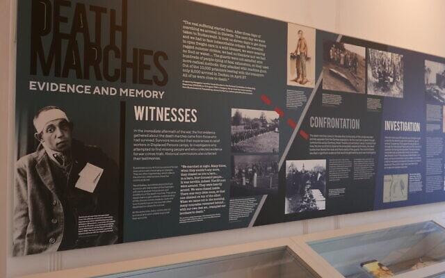 """""""צעדות המוות: עדויות וזיכרון"""", תערוכה חדשה בספריית וינר (צילום: באדיבות ספריית וינר)"""
