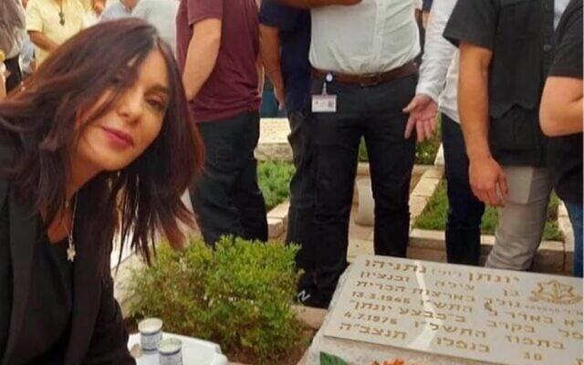 הסלפי של מירי רגב על קבר יוני נתניהו