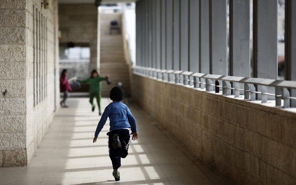 ילדים ערבים בבית ספר בירושלים. אילוסטרציה (צילום: קובי גדעון/פלאש90)