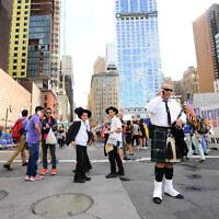 .יהודים חרדים בניו יורק (צילום: Mendy Hechtman/Flash90)