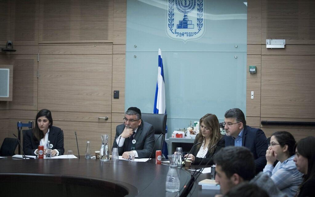 ועדת האתיקה של הכנסת ב-2017 (צילום: יונתן זינדל/פלאש90)