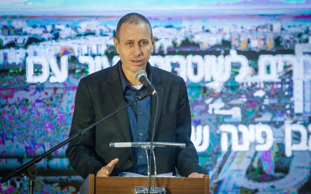 ראש עיריית עכו שמעון לנקרי (צילום: פלאש90)