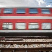 רכבת ישראל.אילוסטרציה (צילום: הדס פרוש/פלאש90)