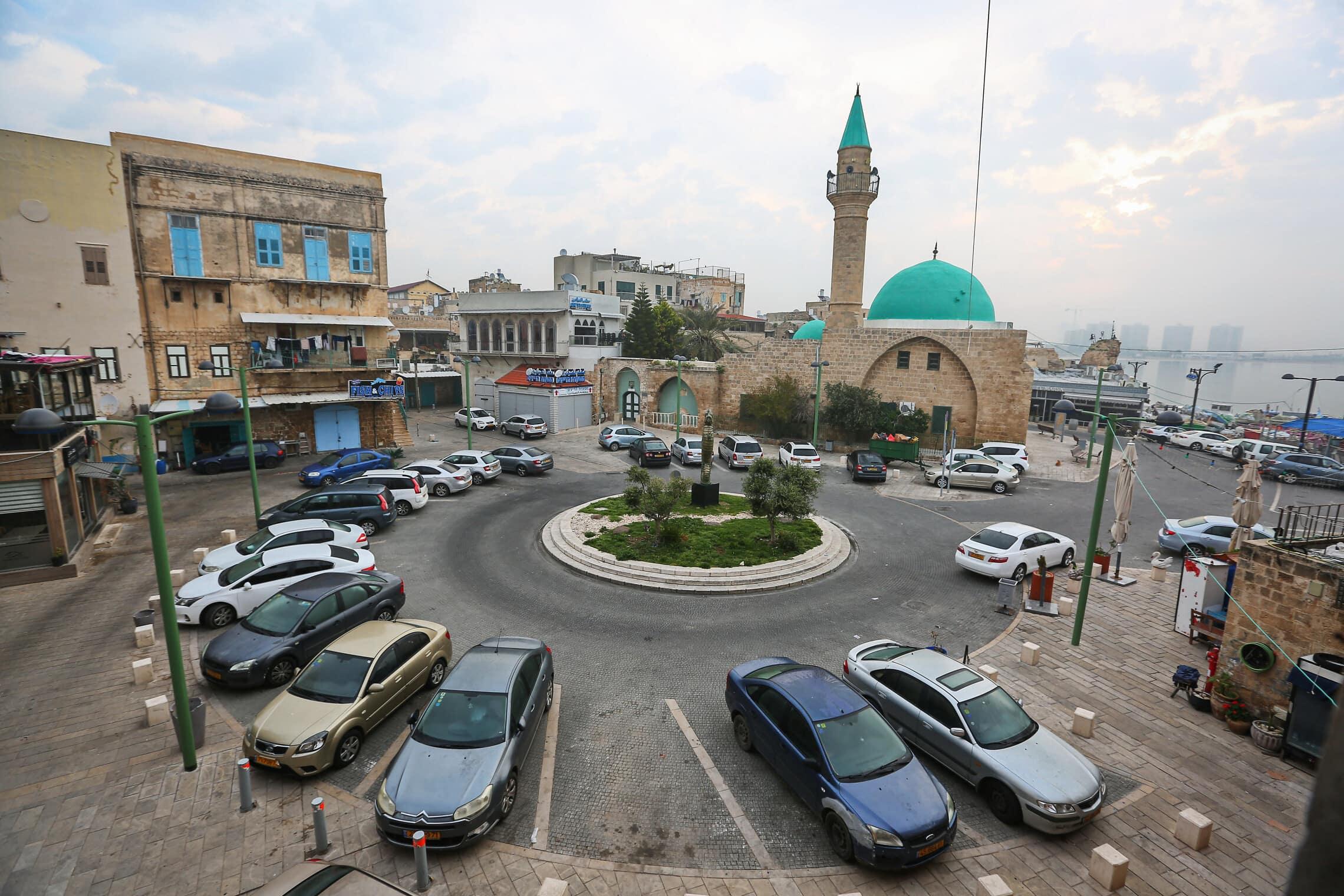 כיכר העיר בעכו. מודל של דו-קיום (צילום: יעקב לדרמן/פלאש90)