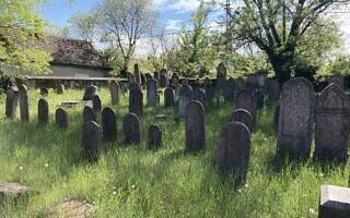 בית הקברות היהודי העתיק בנאג'יטטני. 11 במאי 2021 (צילום: יעקב שוורץ)