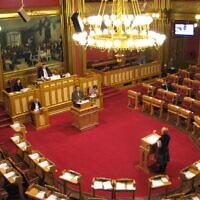 הפרלמנט הנורווגי (צילום: Røed, Wikimedia commons)