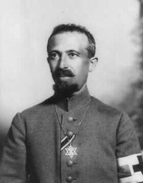 """ד""""ר ארהן טנצר, הרב המעוטר של צבא גרמניה במלחמת העולם הראשונה"""