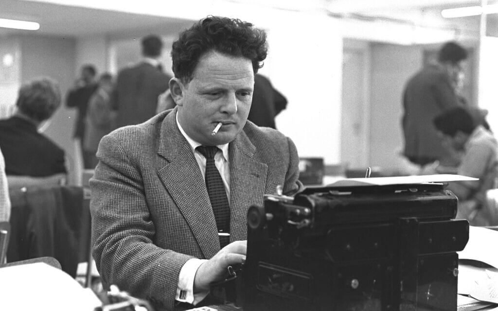 """יוסף (טומי) לפיד ב-1961 (צילום: לע""""מ)"""