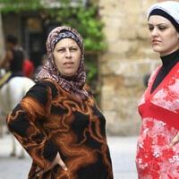 נשים בעכו, 2008 (צילום: Nati Shohat / Flash 90)