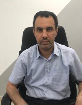 סגן ראש עיריית עכו אדהם ג'מל (צילום: אמיר בן-דוד)