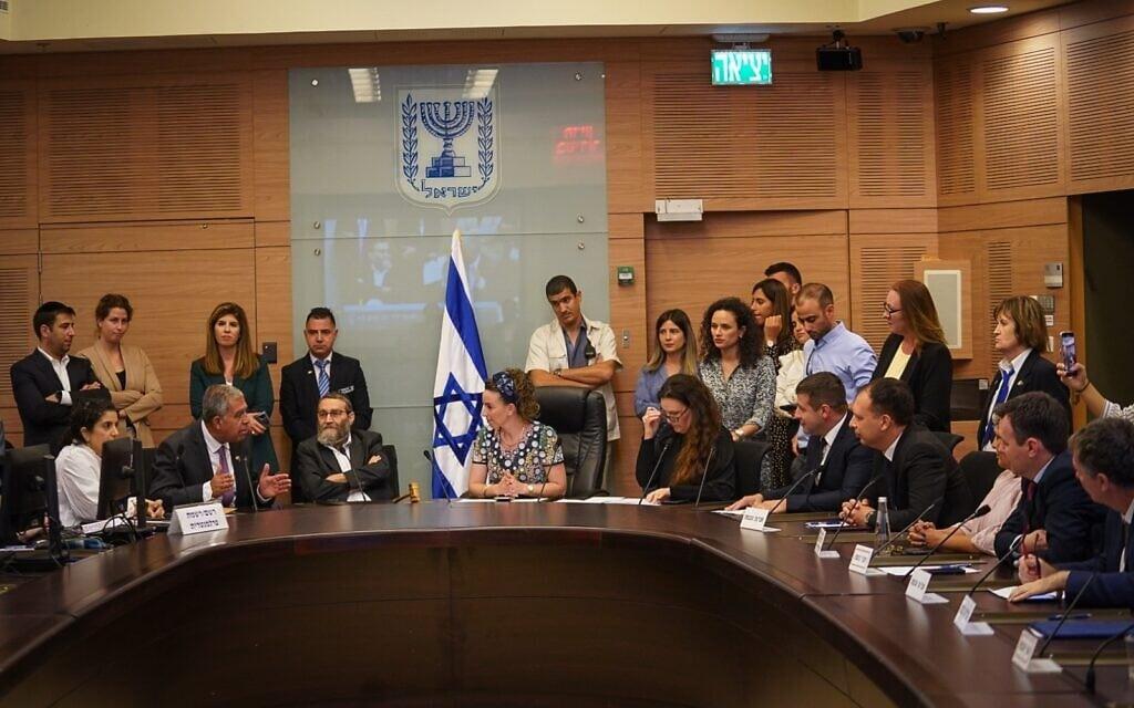 דיונים בוועדה המסדרת בכנסת, 16 ביוני 2021 (צילום: נועם מושקוביץ - דוברות הכנסת)