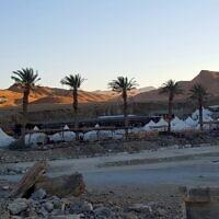 חניון הגבס במכתש רמון (צילום: באדיבות)