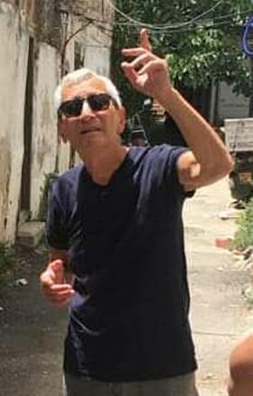 מיכאל בן יאיר בשייח' ג'ראח, השבוע (צילום: חגית עופרן)