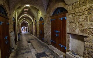 רחובות העיר העתיקה בעכו (צילום: iStock)