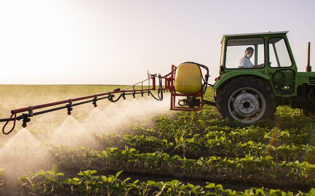 הדברת מזיקים בחקלאות, אילוסטרציה (צילום: fotokostic / iStock)