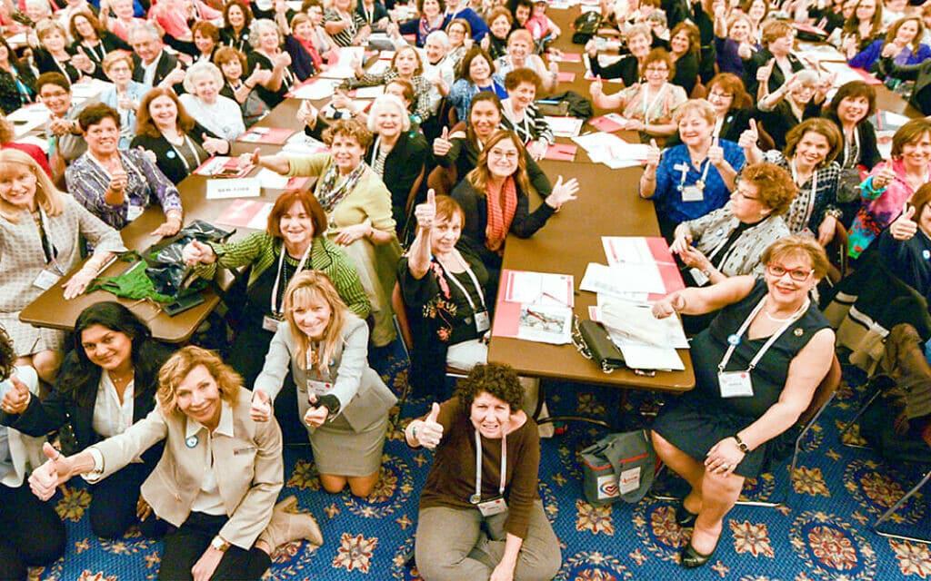 כנס של נשות הדסה בארצות הברית (צילום: נשות הדסה)