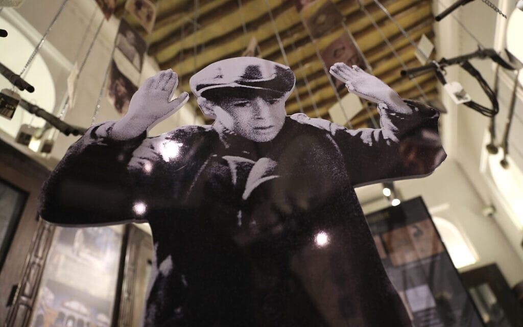 מוזאון השואה בדובאי (צילום: AP Photo/Kamran Jebreili)