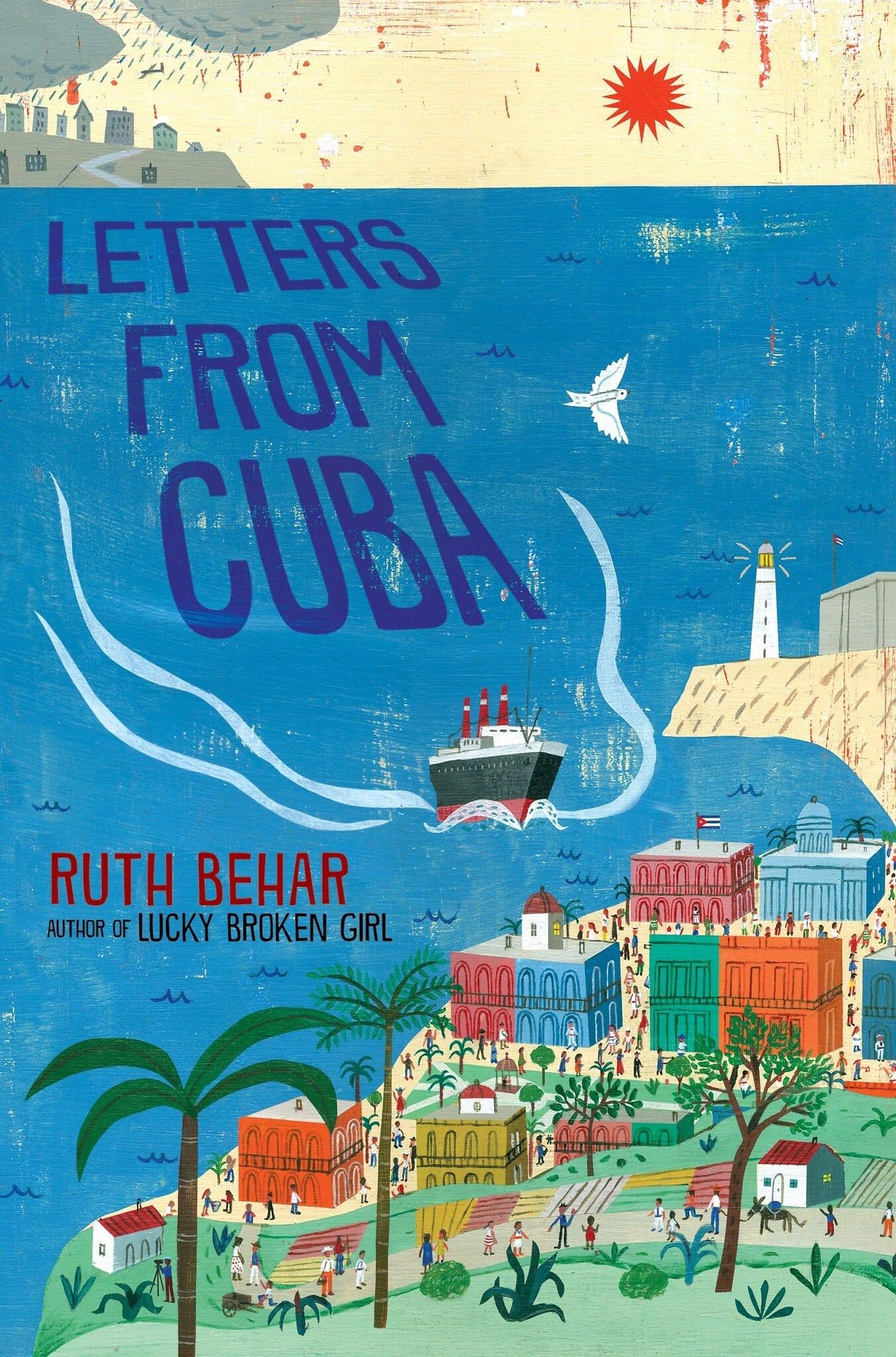 """כריכת הספר """"מכתבים מקובה"""" מאת רות בהר (צילום: Nancy Paulsen Books)"""