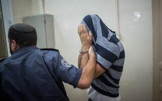 סייען נעצר על ידי המשטרה, אילוסטרציה. למצולמים אין קשר ישיר לכתבה (צילום: יונתן זינדל/פלאש90)