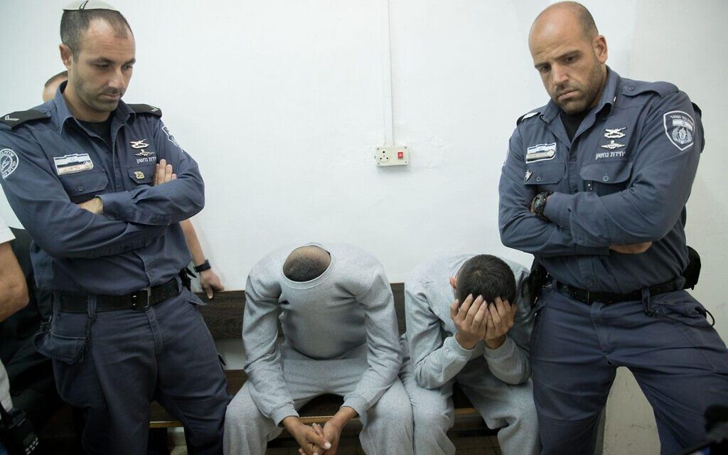חשודים מובאים להארכת מעצר בפני שופט. אילוסטרציה (צילום: יונתן זינדל/פלאש90)