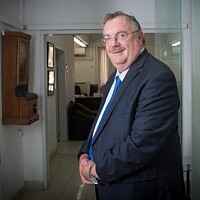 נציב שירות המדינה, פרופ' דניאל הרשקוביץ (צילום: מרים אלסטר/פלאש90)