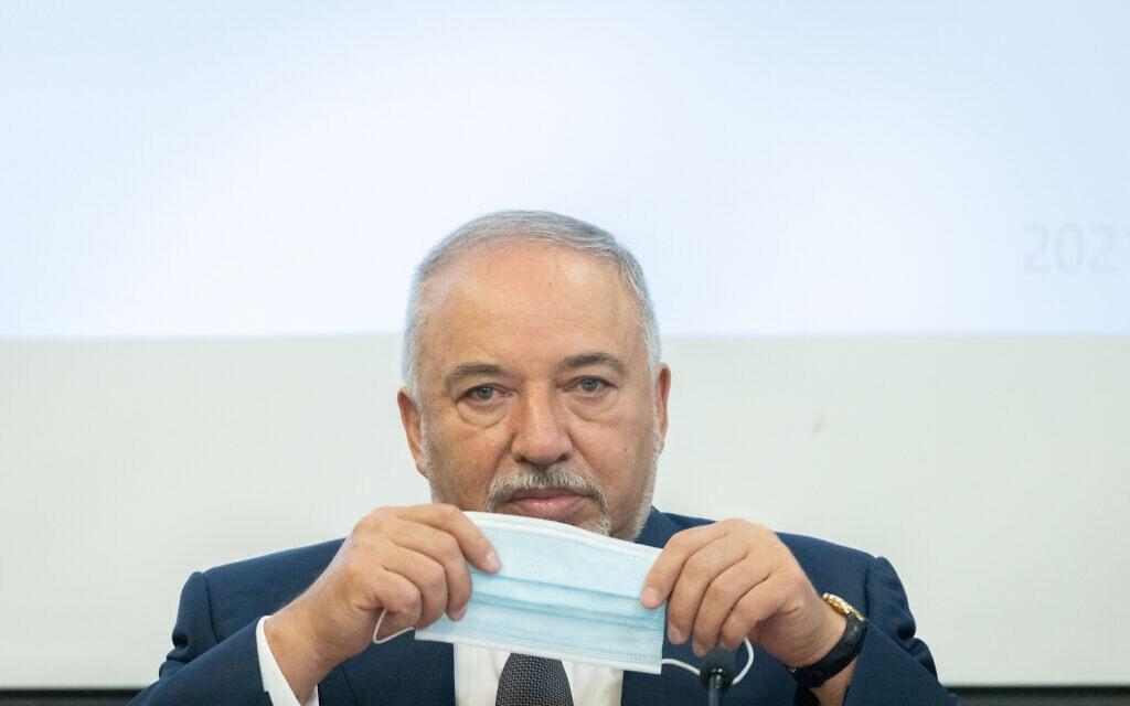 שר האוצר אביגדור ליברמן (צילום: יונתן זינדל/פלאש90)