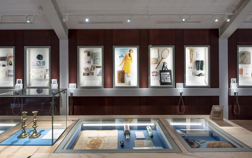תצוגת הקבע במוזיאון היהודי במנצ'סטר מעלה על נס את שורשי הקהילה בתקופה שבה רבים מחבריה היו פועלים במפעלי הפלדה והטקסטיל במקום (צילום: Chris Payne)