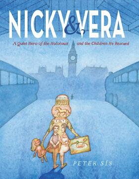 """כריכת ספרו של פיטר סיס, """"ניקי & ורה"""" (צילום: באדיבות W.W. Norton and Company)"""