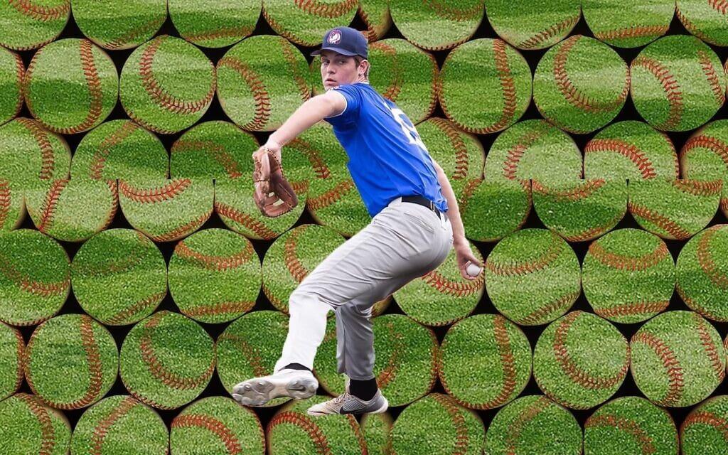 ג'ייקוב שטיינמץ הוא השחקן האורתודוקסי הראשון שנבחר בדראפט על ידי קבוצת בייסבול מן הליגה הבכירה (צילום: באדיבות משפחת שטיינמץ)