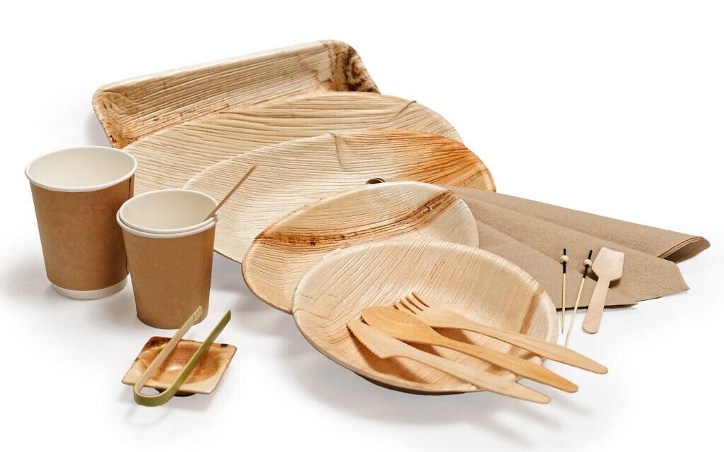 כלים חד-פעמיים מתכלים מבמבוק. אילוסטרציה (צילום: iStock)