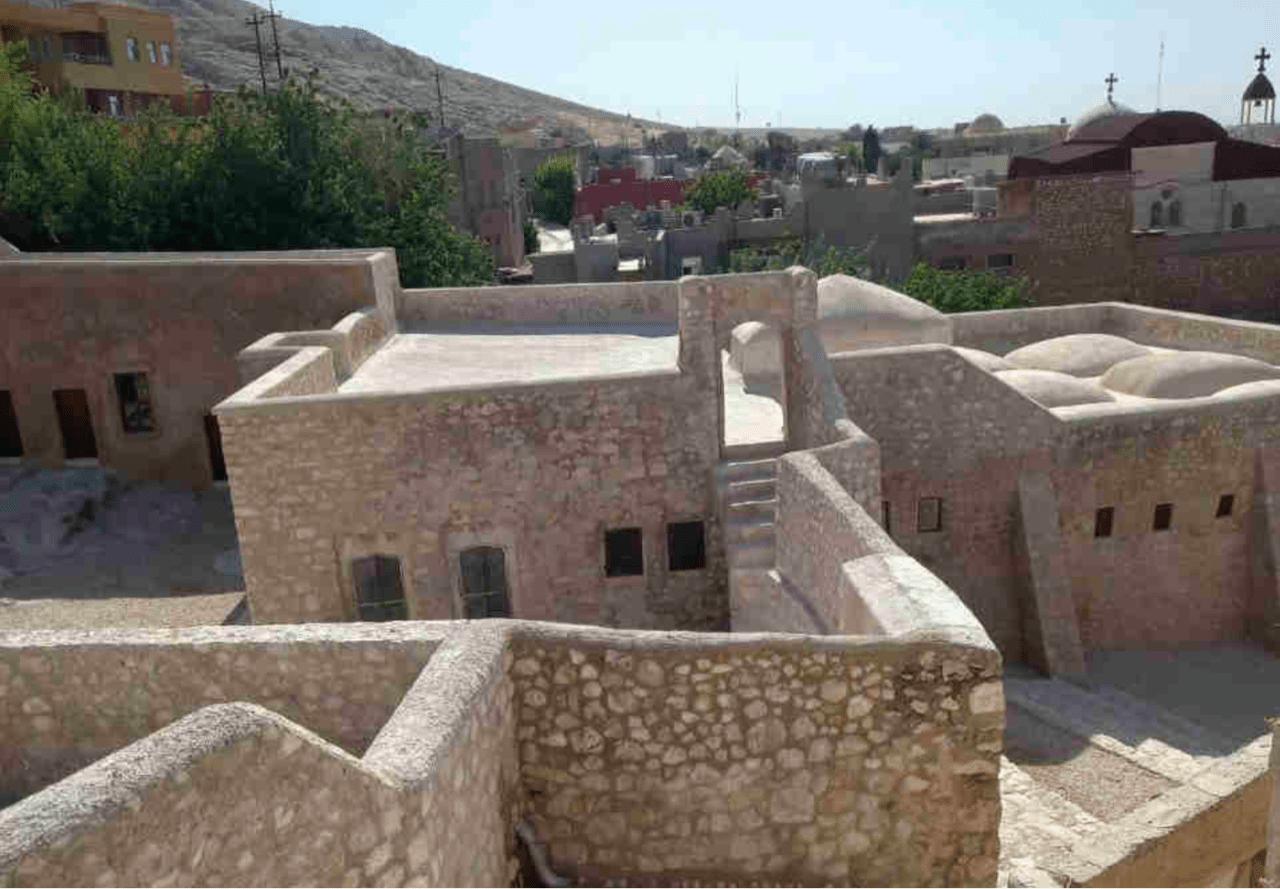 מתחם קבר נחום אחרי השחזור (צילום: אדם טיפן)