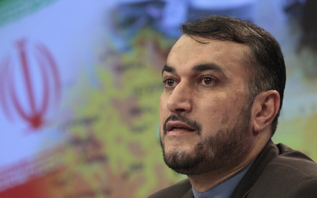 חוסיין אמיר עבדולחיאן ב-2012 (צילום: AP Photo/Misha Japaridze)