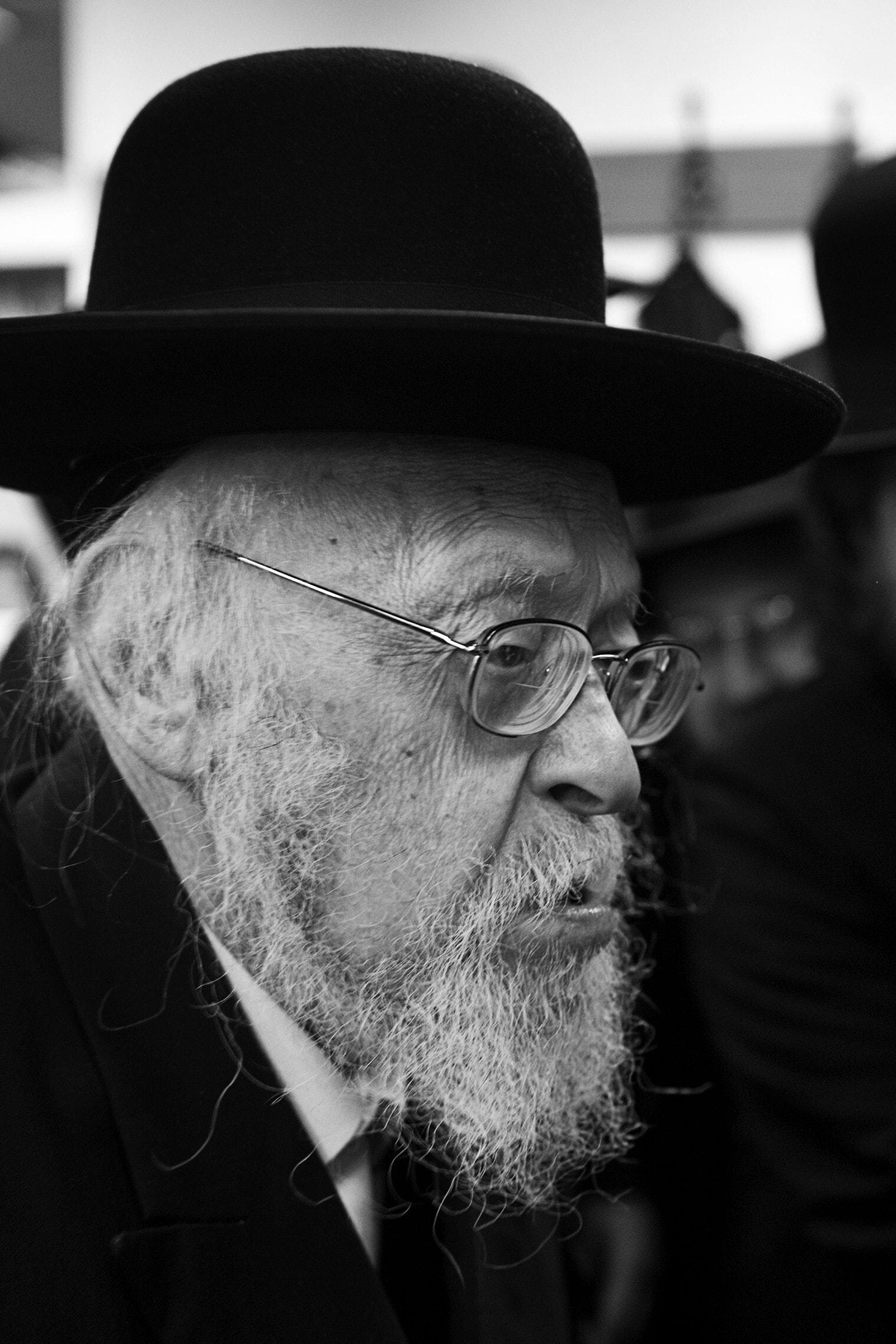 פוסק הדור הרב יוסף שלמה אלישיב, 2009 (צילום: מתניה טאוסיג/פלאש90)