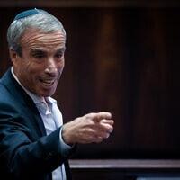 אלעזר שטרן במליאת הכנסת, יולי 2021 (צילום: יונתן זינדל/פלאש90)