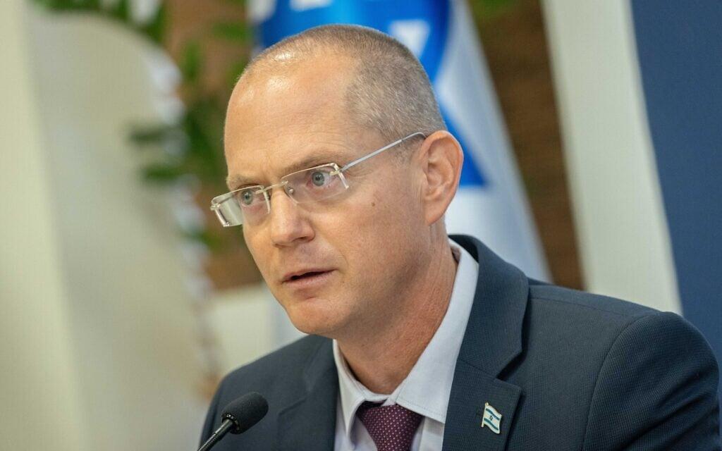 שר החקלאות עודד פורר, יולי 2021 (צילום: יונתן זינדל/פלאש90)